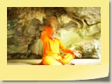 Swamy Jee deep meditation in Siddhar pulippani Cave in Thailand