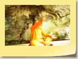 Swamy Jee deep meditation in Siddhar pulippani Cave in Thailand (1)