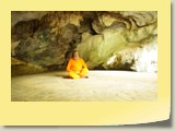 Swamy Jee deep meditation in Siddhar pulippani Cave in Thailand (6)