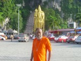 Swamy Jee visit to Battu Cave in Malaysia
