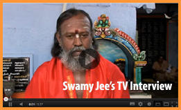 swamy jee cideo interview